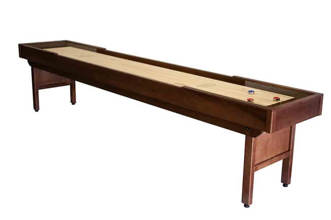 12 foot Liberty shuffleboard table