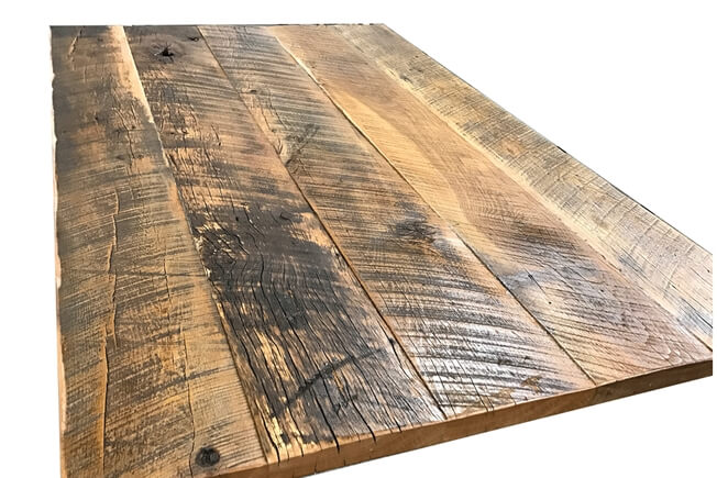 Shuffleboard Reclaimed Hardwood  Dining Top