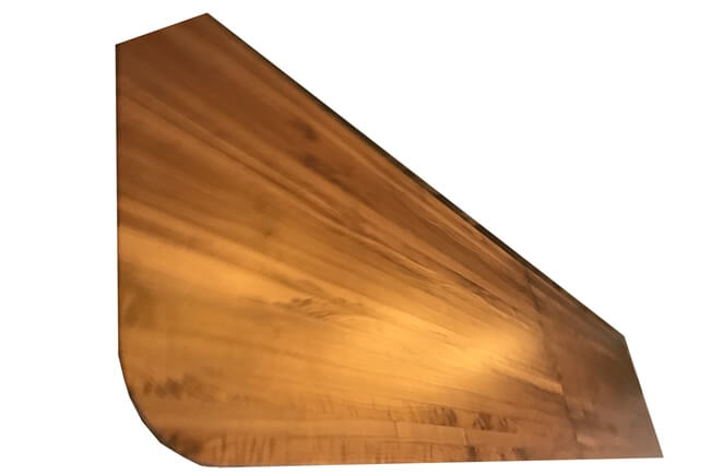 Shuffleboard Hardwood Dining Top