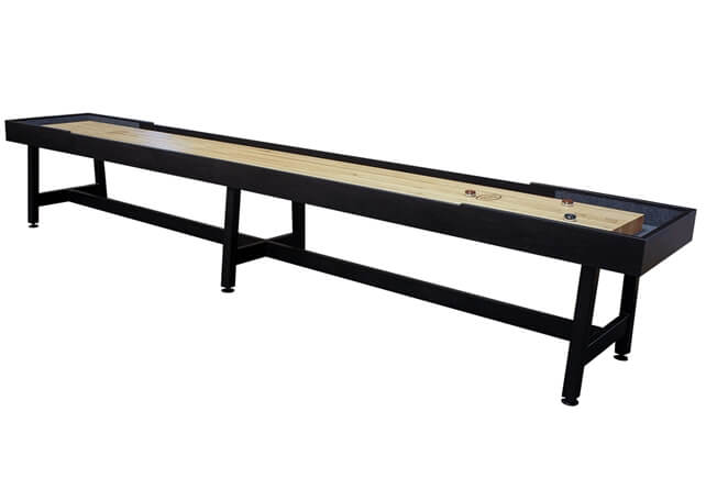 16 foot Contempo Tulipwood shuffleboard table