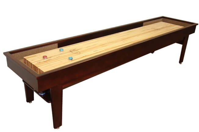 9 foot Patriot shuffleboard table