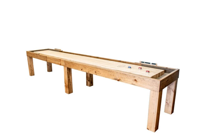 18 Foot Parson Shuffleboard Table