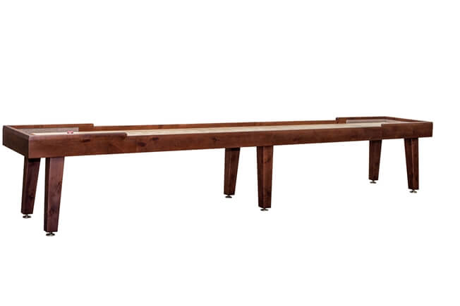 14 foot Ludington Alder shuffleboard table