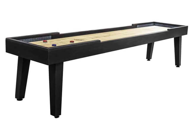 12 foot Ludington  Tulipwood shuffleboard table