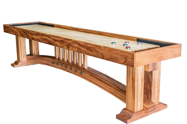 9 Foot The Limbert Shuffleboard Table