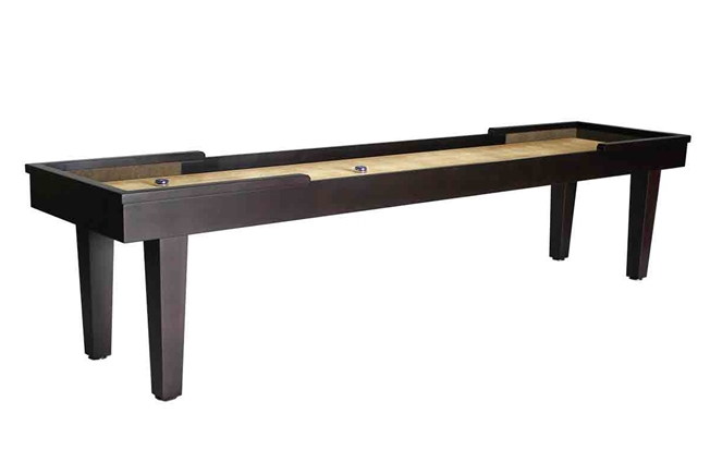 12 foot Hamilton Maple shuffleboard table