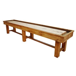 12 Foot Ponderosa Pine Shuffleboard Table